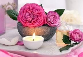 Масла розы и герани