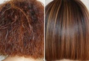 Вред кератиновое выпрямление волос