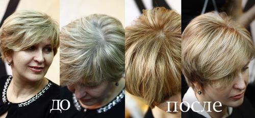 Форум чем красить седые волосы