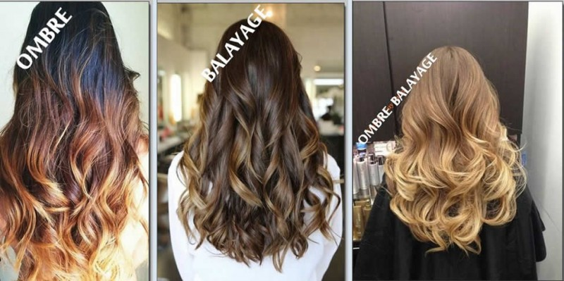 Как называется окрашивание кончиков волос в другой цвет